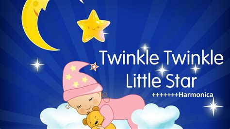 twinkle twinkle little star twinkle twinkle little star harmonica youtube