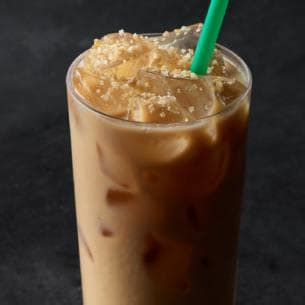 Honey Chestnut Latte Iced iced caramelized honey latte starbucks coffee company