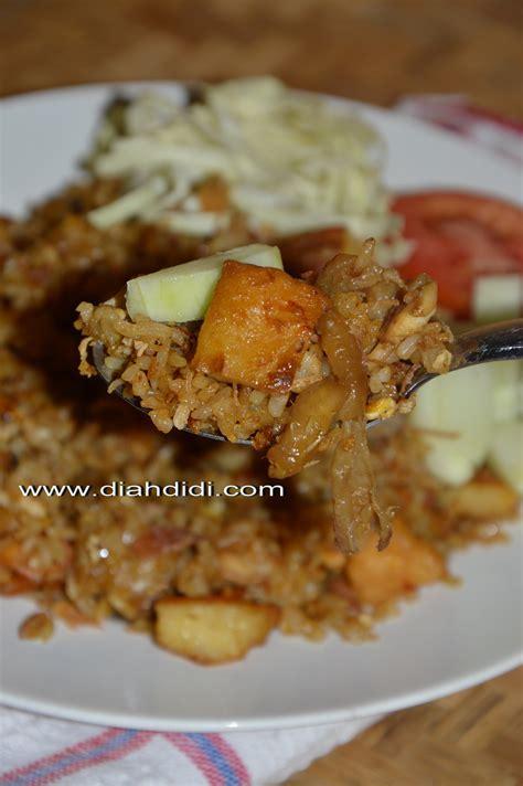 diah didis kitchen sepiring nasi goreng dhok dhok ala