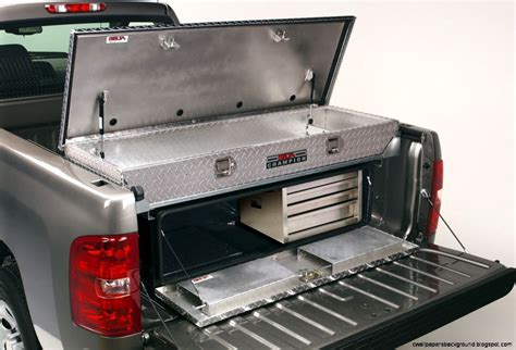 homemade tool boxes for back of trucks truck tailgate storage box