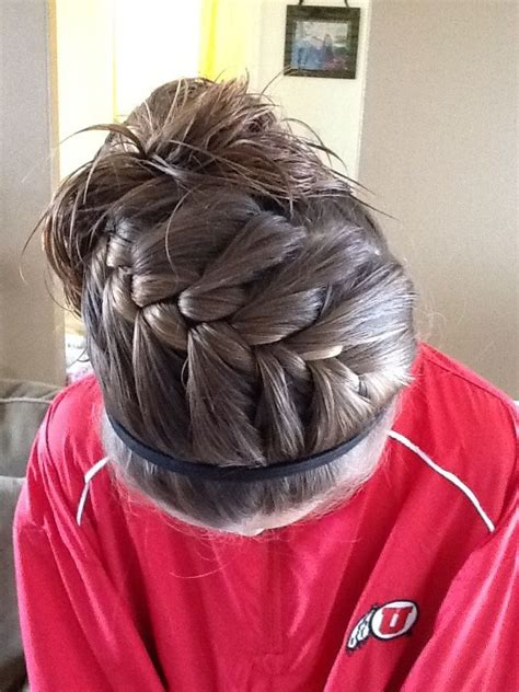 Hairstyles For Sports by 25 Best Ideas About Sport Hairstyles On
