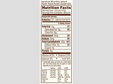 Tri-color Pearl Couscous :: Bob's Red Mill Natural Foods Israeli Couscous Nutrition Facts