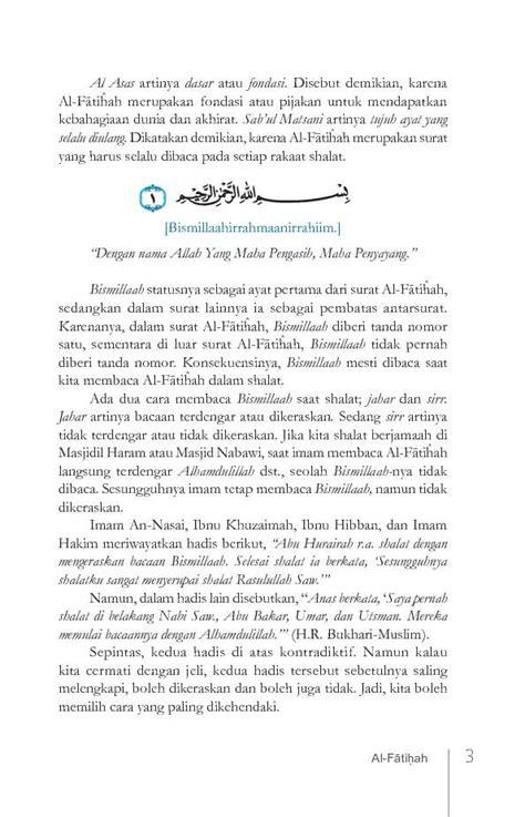 Buku Ori Tafsir Jalalain Jilid 1 Al Fatihah Al An Am Sinar Baru Ag jual buku tafsir al quran kontemporer juz amma jilid i al fatihah an nas s d ad dhuha oleh dr