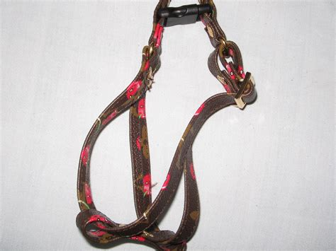 harness and leash louis vuitton collar and leash and harness