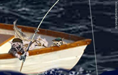 fishing boat gif fish fisherman angler fishing and boat animations