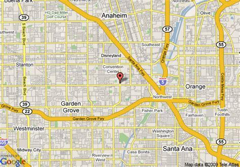 california map garden grove map of residence inn garden grove garden grove