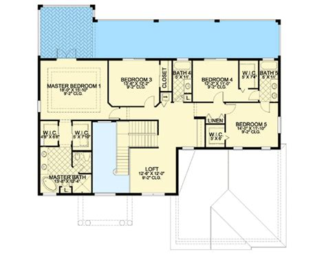 house plans with master suite on second floor first or second floor master suite 32231aa