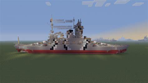 bathtub battleship nkm raika battleship bathtub build minecraft project