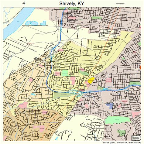 Louisville Ky Property Tax Records Map Of Shively Ky Search Engine At Search