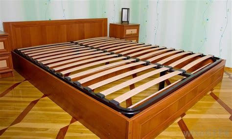 how to make bed slats what is a slat bed frame with pictures