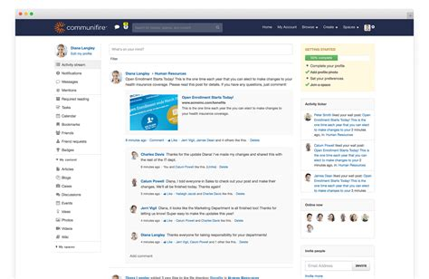 company intranet template intranet news boost your company s communications