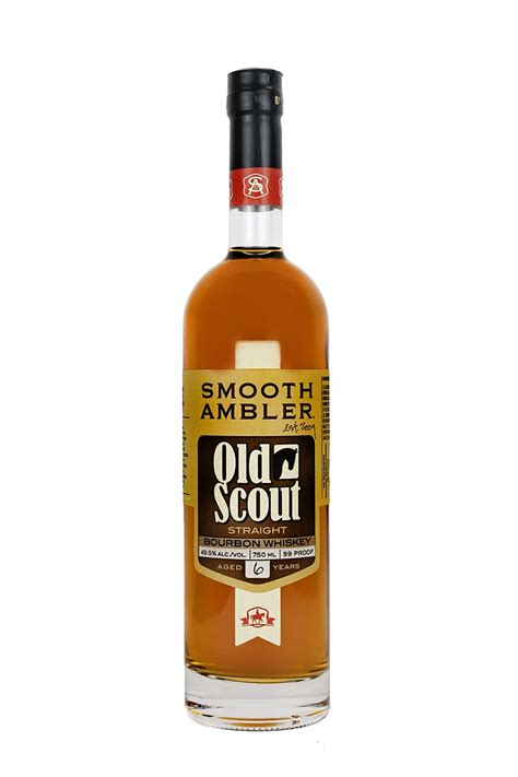 smooth ambler old scout bourbon smooth ambler old scout 6 year old bourbon whiskey