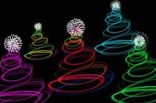 Twinkling christmas tree lights abstract christmas tree lights