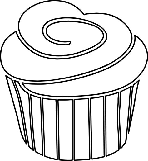 frosted cake coloring pages frosted cake coloring pages a strawberry cupcake with black white outline frosting on