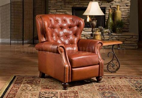 Traditional Recliners by Black Or Brown Top Grain Leather Traditional Recliner