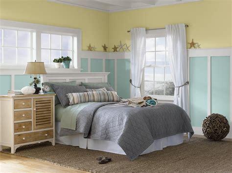 aqua themed bedroom yellow and pale aqua beach themed coastal bedroom with