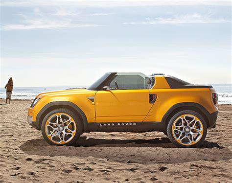 Dc California T Open Top land rover dc100 sport concept quot drop top the