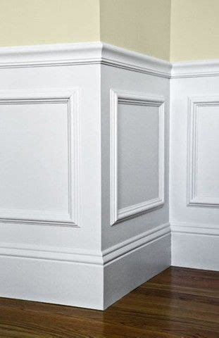 Glue Wainscoting To Wall by Easy Wainscotting Idea Buy Frames From Michael S Glue To