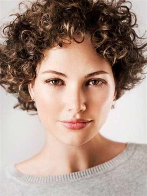 20 best ideas of short hairstyles for very curly hair