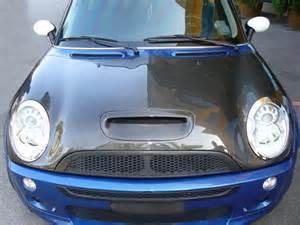 Mini Cooper Carbon Fiber Oem Style 2002 2006 Bmw Mini Cooper Ss Carbon Fiber