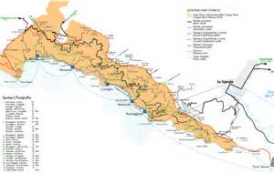 Cinque Terre Italy Map by Maps