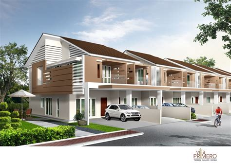 home design for terrace modern terrace house malaysia house and home design