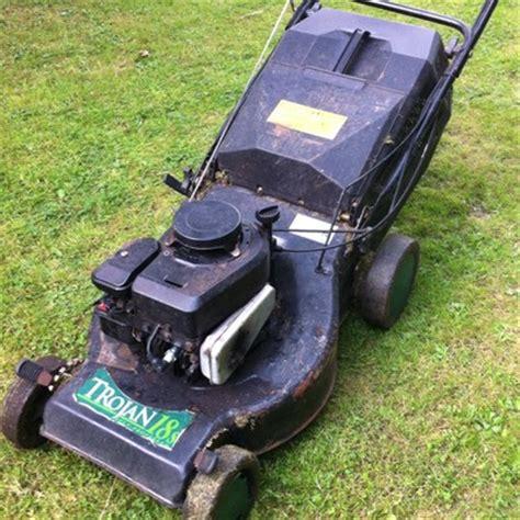trojan   propelled lawn mower qualcast lawnmowers shop