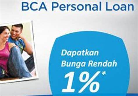 bca kta kredit tanpa agunan bca personal loan bunga rendah coba deh