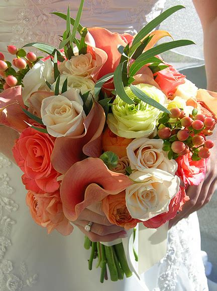 Wedding Bouquet Emulsion by Plumsiena That Would Be Coral