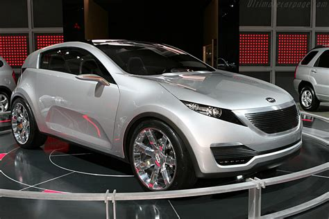 Kia Kue 2007 Kia Kue Concept Images Specifications And Information