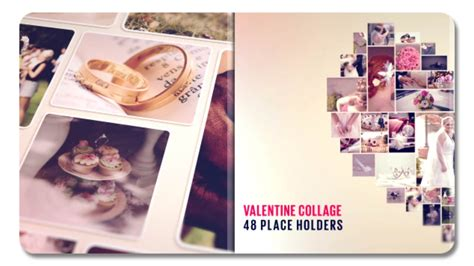 Valentine Collage 19328855 After Effects Template Youtube Collage After Effects Template Free