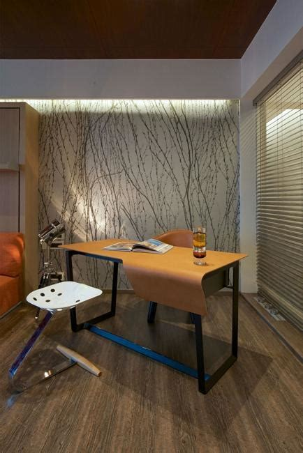 luxury apartment ideas showing contemporary interior design  strong personality