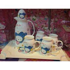 Teko Doraemon Set By Fitrah Gift toko souvenir koleksi hello piring melamin