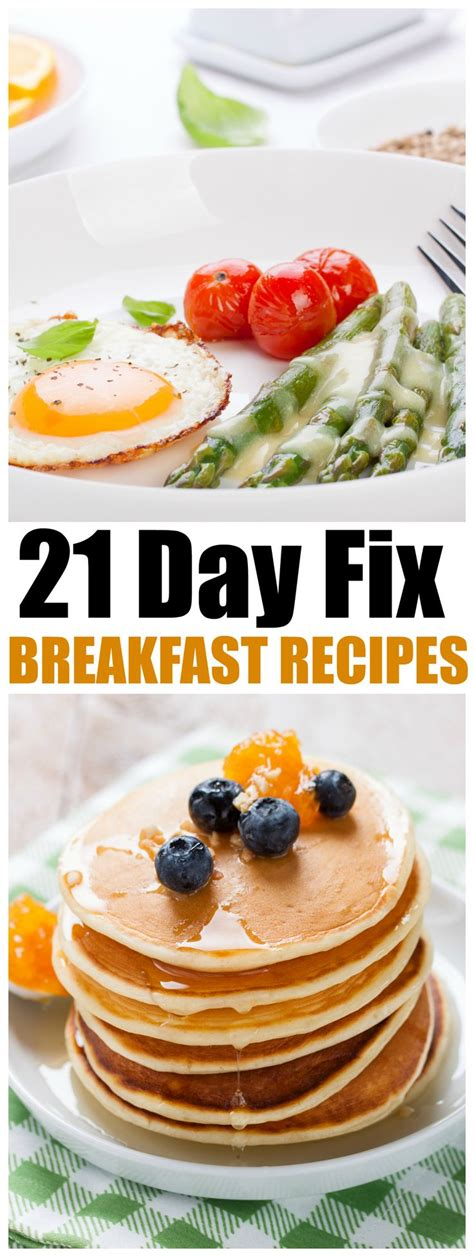 8 Fix Breakfasts For by 1000 Ideas About 21 Days On 21 Day Fix