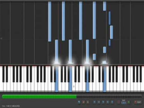 tutorial zanarkand piano synthesia to zanarkand ffx piano collections doovi