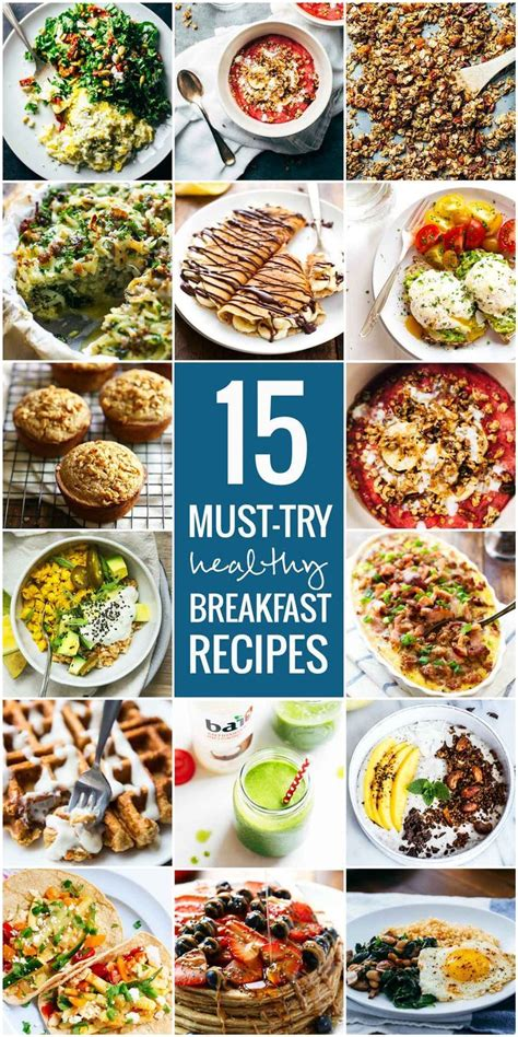 15 Healthy Breakfast Ideas by 15 Must Try Healthy Breakfast Recipes Discount Codes