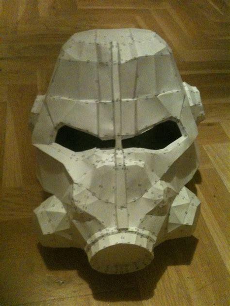 Helmet Papercraft - fallout 3 helmet papercraft wip by fruktus on deviantart
