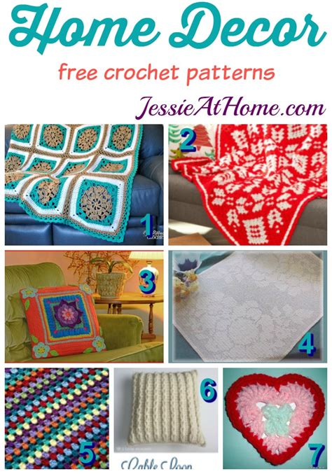 free crochet home decor patterns free crochet home decor patterns at home