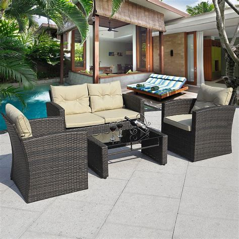 Cheap Patio Furniture Set Cheap Patio Furniture Sets 200 Roselawnlutheran