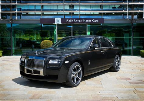 rolls royce ghost gold special edition rolls royce ghost v specification with