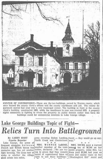 house of larose an informal tribute to lake george s winnie larose the adirondack almanack
