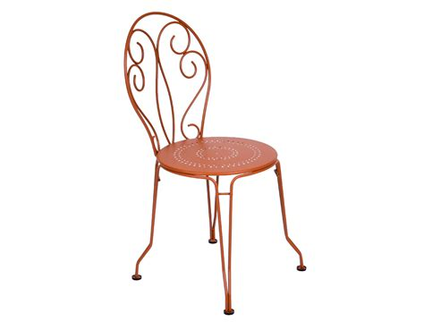 table et chaise noir fermob montmartre garden chair traditional colourful wrought iron furniture with scrolls