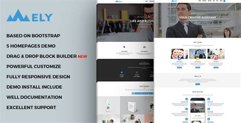 drupal themes responsive business mely responsive business drupal theme 精博建站