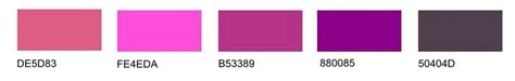 different shades of purple different shades of pink and purple my web value