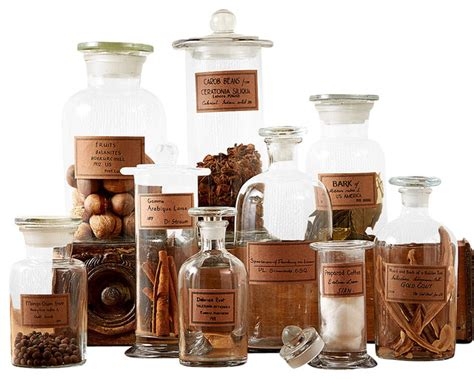 Canister Sets Kitchen by Botany Apothecary Jars Set Of 9 Traditional Bathroom