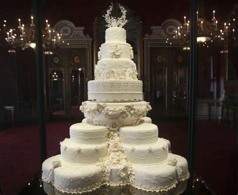 Kate Middleton's Eight Tiered Wedding Cake Slice Fetches £2,588