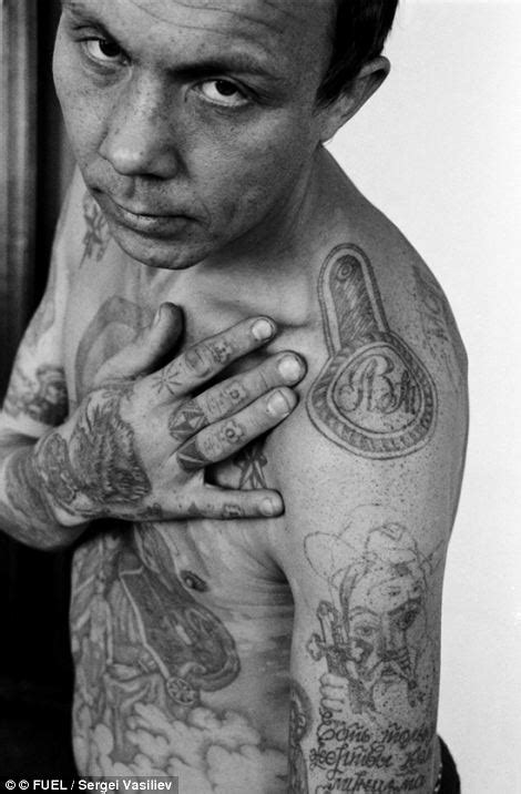 tattoo meaning in prison sergei vasiliev russian criminal tattoos 1989 1993