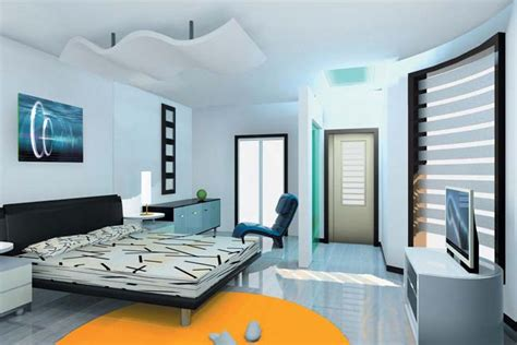 Interior Ideas For Indian Homes by Modern Interior Design Bedroom From India