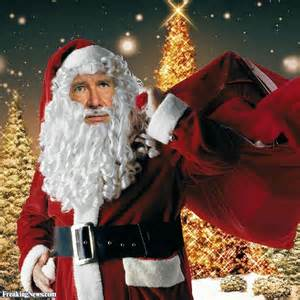 Santa Ford Harrison Ford As Santa Pictures Freaking News