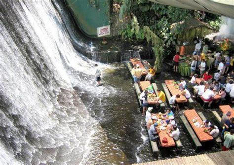 villa escudero waterfalls restaurant androphilia
